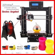 3D Printer Prusa i3 Reprap MK8 DIY MK2A Heatbed LCD Impresora 3d UK USA Stock