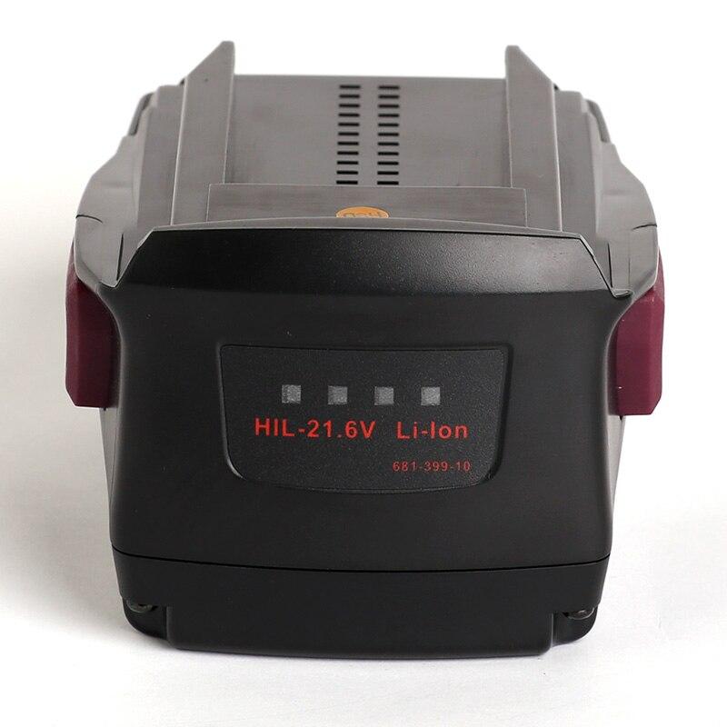 Para Hilti 21,6 V Li-Ion 4000mAh SFH18-A SF-18A TE4-A22 TE2-A22 SIW22T-A SCM22-A