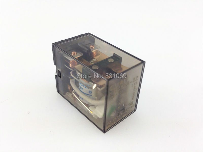 10 unids/lote HHC68A-2Z DC12V bobina, potencia relé DPDT 8 pines HH62P LY2 JQX-13F 10A 240VAC/28VDC nuevo
