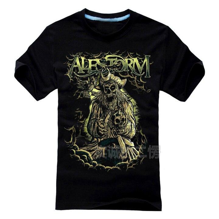 7 kinds Pirate ghost Alestorm Rock Brand women men shirt shirt 3D fitness skull heavy Dark Metal Cotton Harajuku camiseta ropa