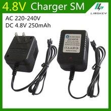 Chargeur de batterie 4.8 V 250mA pour 4.8 V AA NiCd et NiMH chargeur de batterie pour voiture jouet RC SM plug ca 220-240V cc 4.8 V 250mA