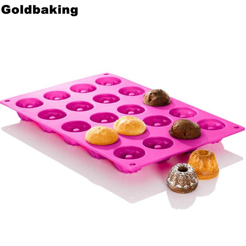 Allemagne ustensiles de cuisson à cavité en silicone   Vaisselle en forme de Savarin de 20 degrés moule à pouding et outils au chocolat, moule à gâteau en mousseline, mini poêle