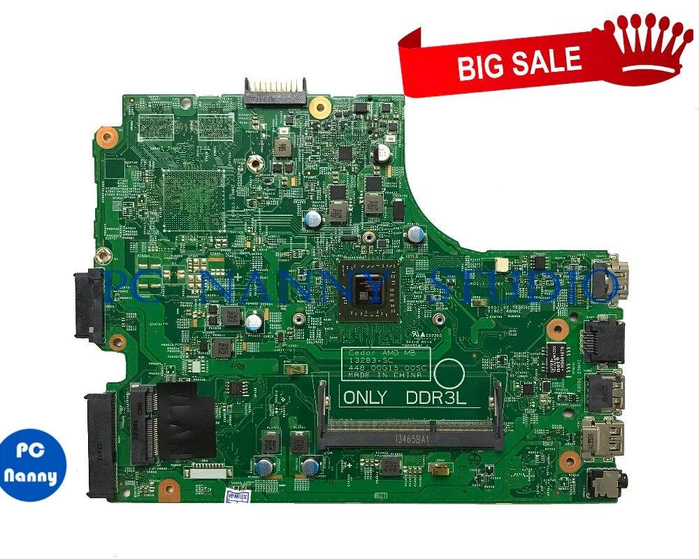 PCNANNY HMH2G 0HMH2G para Inspiron 3000 15 3541 portátil placa base E1-6010 DDR3L prueba