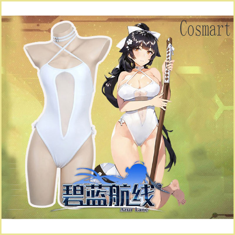 [STOCK]Azur Lane Takao Atago Swimsuit Sexy Swimwear New fashion cosplay costume free shipping