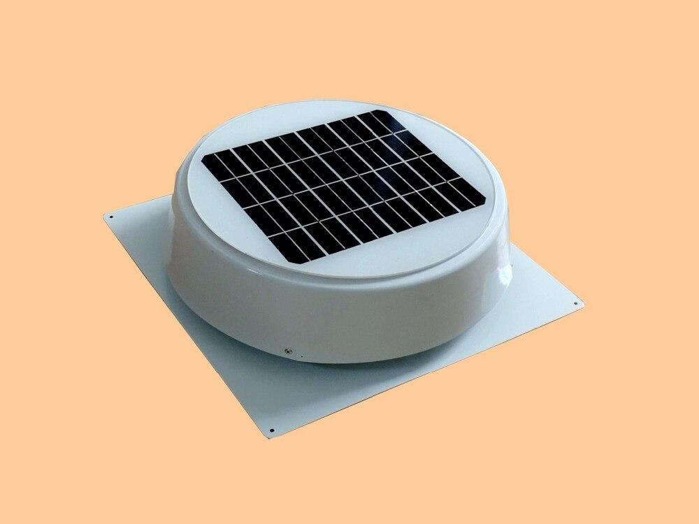 10 W Telhado Montado Exaustor Ventilador Ventilação Ventilador Solar Sótão 530CFM para Efeito de Estufa Jardim Banheiro Casa Residencial Garagem Móvel