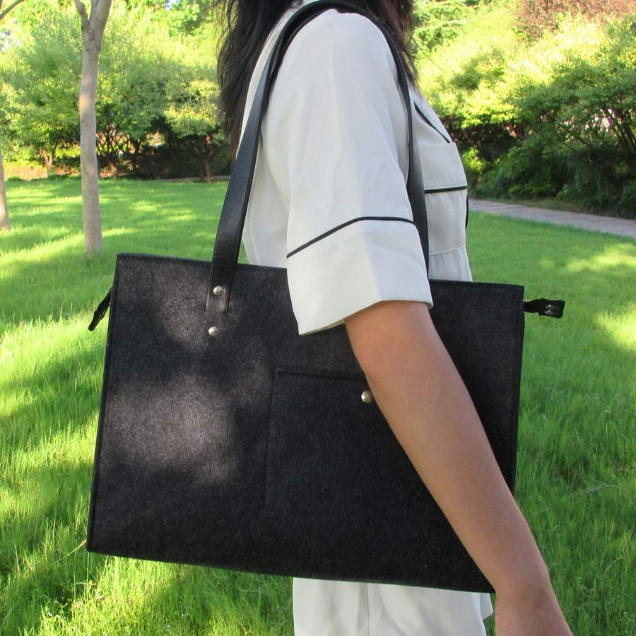 Sight Focus брендовая фетровая сумка через плечо женская модная темно-серая Повседневная сумка дамская сумка для офиса Vilten Tas дизайнерские фетро...