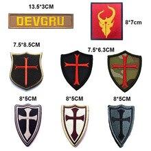 Sceau de protection CROSS CRUSADER pour sceau de la marine   PATCH DEVGRU DEVGRU DEVGRU, Badge tactique, patchs de brassard en forêt