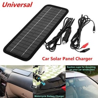 12V 4.5W Solar Panel Portable Monocrystalline Solar Cells Power Charger DIY Module Battery System For Car Automobile Boat