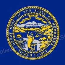 Nebraska Flag 3 x 5 FT 90 x 150 cm USA States Flags Banners