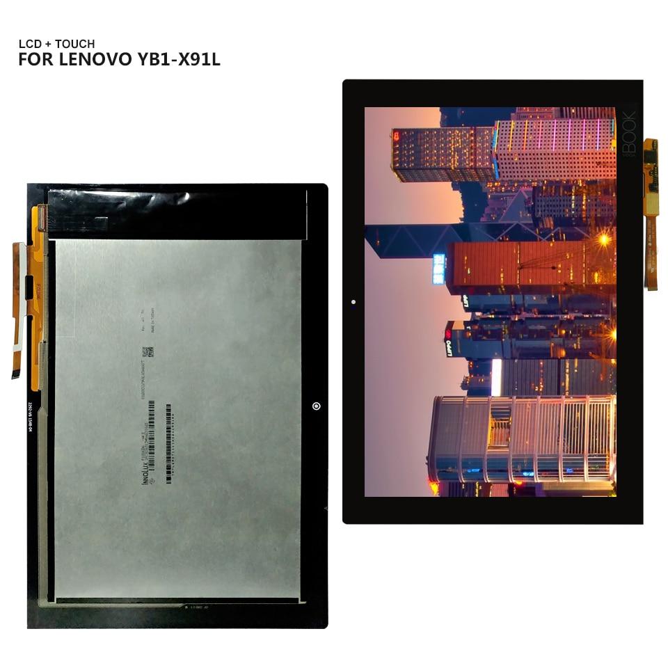 Para Lenovo Yoga Livro YB1-X90 YB1-X90F YB1-X90L Display LCD Touch Screen Digitador Assembléia Painel de Vidro Ferramentas Gratuitas