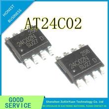 50 PCS/LOT AT24C02 24C02 AT24C02BN-SH-T AT24C02N AT24C02 SOP-8 NOUVEAU IC