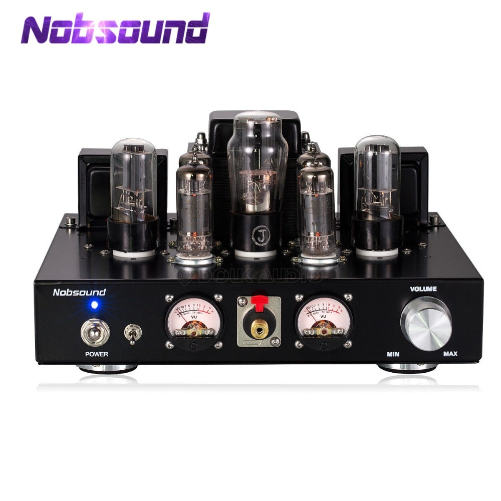 Nobsound-مضخم صوت هاي فاي 6P1 ، صناعة يدوية ، أنبوب فراغ ، سماعة رأس استريو من الفئة أ ، لون أسود