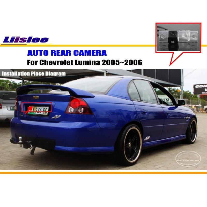 Cámara retrovisora de coche para Chevrolet Lumina 2005 2006 cámara de luz de la placa de matrícula del retrovisor