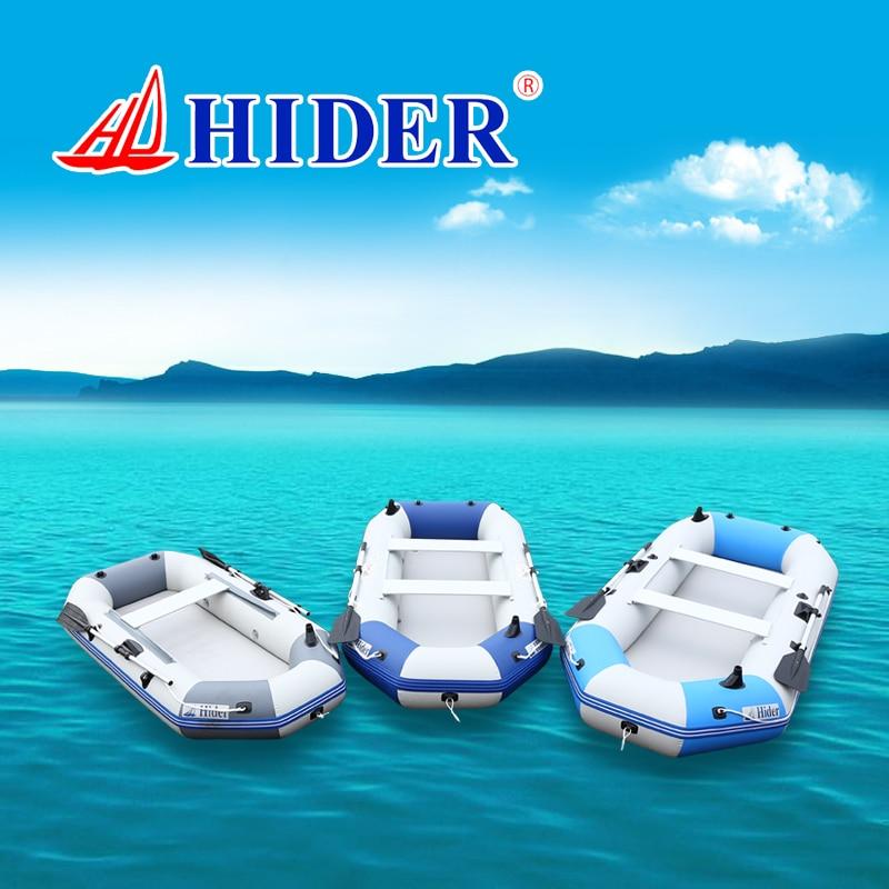 HIDER 0,9mm PVC bote inflable HD-300 pesca económica profesional fuerte pontón piso de alfombra de aire bote inflable