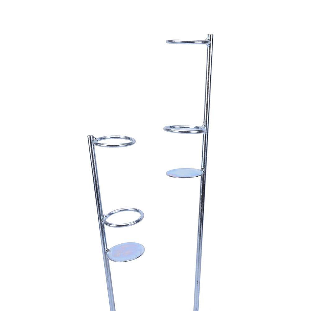 Caña de pescar automática de acero inoxidable de peso ligero para primavera individual, soporte para caña de pescar