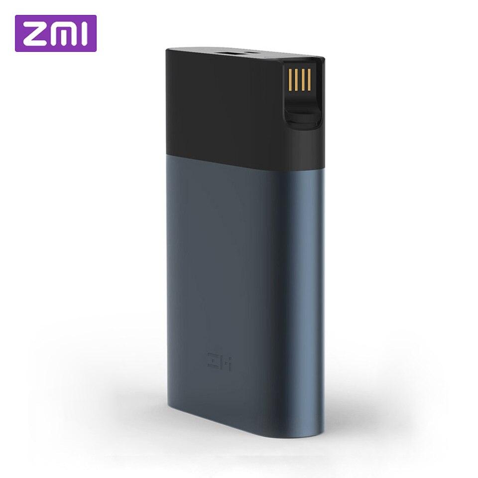 Оригинальный Xiaomi ZMI 4G WiFi роутер 10000 мАч аккумулятор внешний аккумулятор 3G 4G LTE беспроводная мобильная точка доступа 10000 мАч QC 2,0 Быстрая зарядка