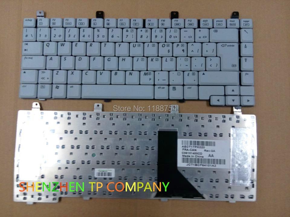 Teclado francés para HP Compaq Presario C300, C500, V2000, M2000, R3000, R4000,...