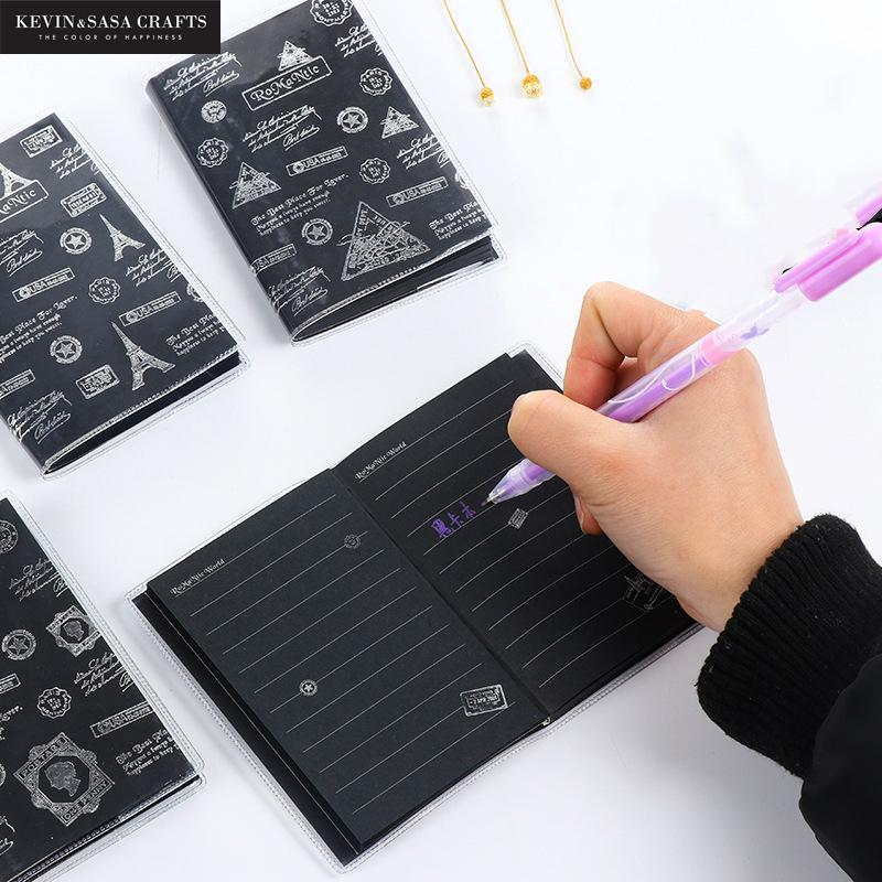 50 листов блокнот дневник черная Бумажная книга Канцтовары для офиса школьные Канцтовары, представленные Кевин & sasa ремесла