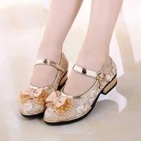 children princess shoes new 2020 spring girls sequins girls wedding party kids dress shoes for girls school sandals eu 2737
