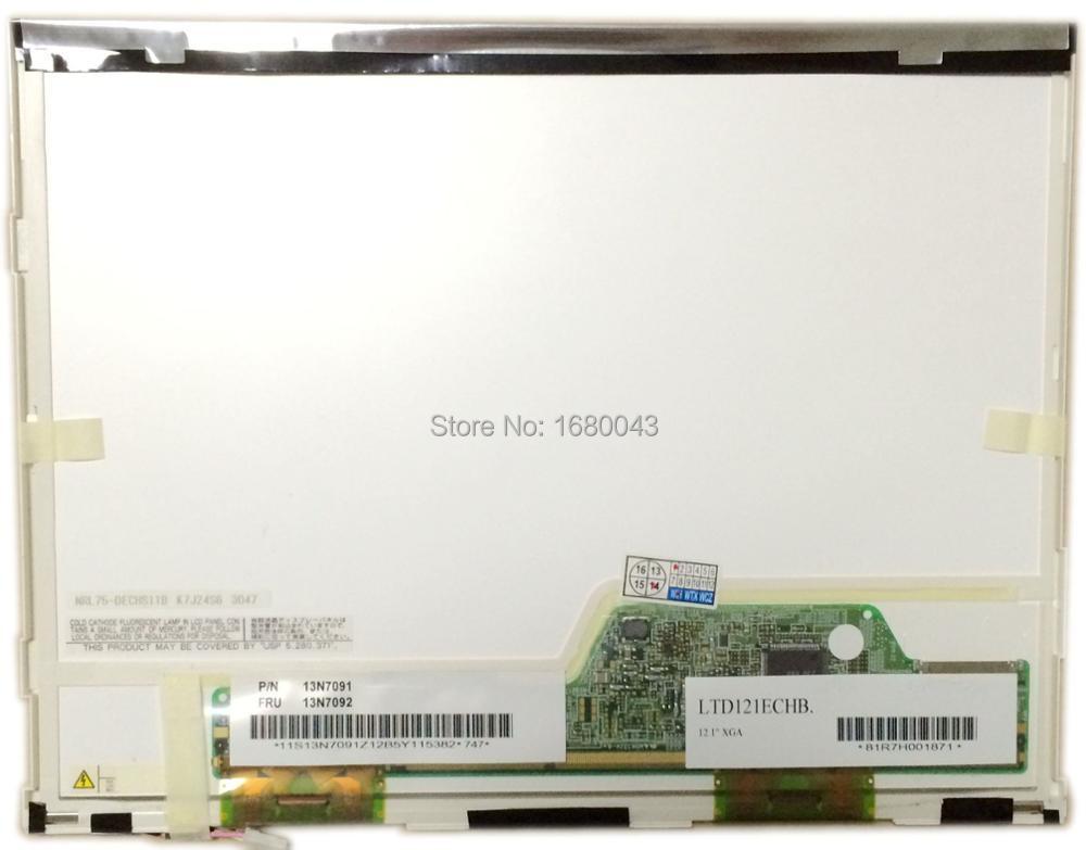 شاشة كمبيوتر محمول LCD ، LTD121ECHB ، 20PIN ، XJ ، 1024x768 ، CCFL