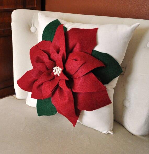 #1070 new creative handmade cutting flowers cushion  pillow sofa bed car ornament no filling