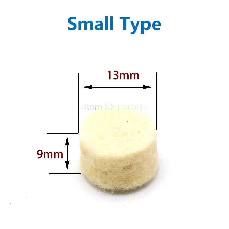 10 vnt apvalaus rato pagalvėlės vilnos veltinio +1 strypo 3,2 mm - Abrazyviniai įrankiai - Nuotrauka 4