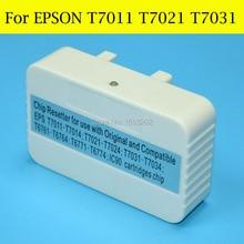 1 pièce Puce Resetter Pour Epson T7011 T7021 T7031 Pour EPSON WorkForce Pro WP-4535DWF WP-4515DN WP-4545DTW WP-4595DTWF Imprimante