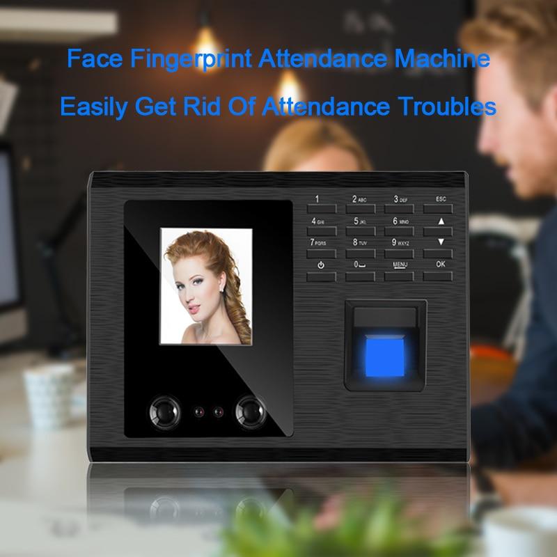 bowen mary time twist reader Eseye Biometric Fingerprint Time Clock Time Attendance System USB Recorder Employee Digital Electronic Voice Reader Machine