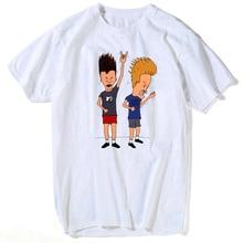 Beavis & boutthead t-shirt pour homme Rock Forever sous licence officielle adulte chemise S-3XL t-shirt chemise de grande taille streetwear