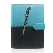 Newyes Smart réutilisable effaçable cahier micro-ondes onde nuage effaçable bloc-notes bloc-notes doublé avec stylo pocketbook livraison directe