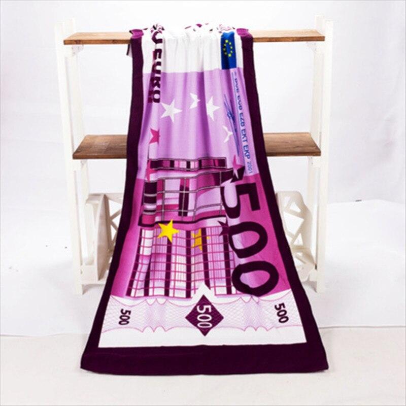 500 евро дизайн песок пляжное банное полотенце из микрофибры полотенце сушильная мочалка купальный костюм для душа летняя защита 70x140cm