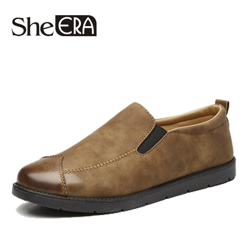 Zapatos de cuero para hombre con diseño nuevo, zapatos de punta estrecha para hombre, zapatos informales para fiesta de boda, zapatos antideslizantes de ocio para conducir zapato