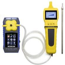 4 in 1 O2 H2S CO Brennbare Gas Detektor mit Gas Sampler Pumpe Sauerstoff Kohlenmonoxid Gas Analyzer Monitor Gas leck Detektor