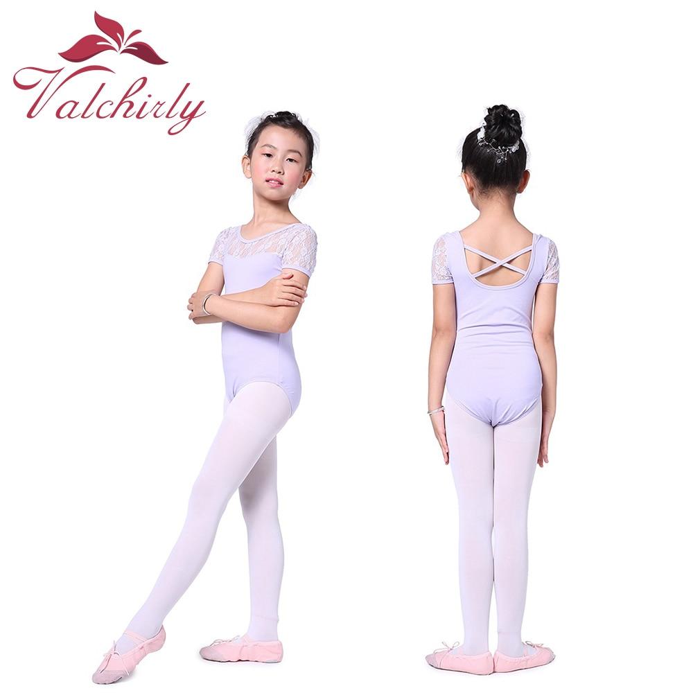 girls-lovely-ballet-laces-gymnastic-dress-dance-costume-short-sleeves-gymnastics-leotard