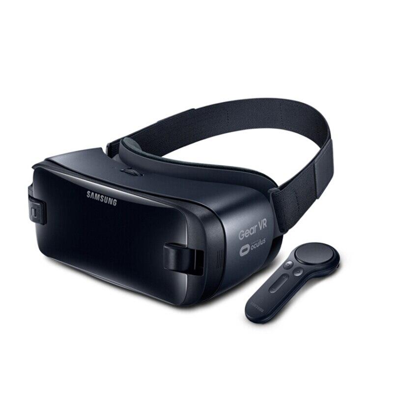 Gear VR 5,0 3D gafas VR 3D caja para Samsung Galaxy S9 S9Plus S8 S8 + Note7 Nota 5 S7 etc teléfonos inteligentes con controlador Bluetooth