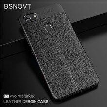 Pour Vivo Y83 étui dempreintes digitales étui souple en Silicone TPU cuir anti-chocs téléphone étui pour Vivo Y83 Y83A édition dempreintes digitales BSNOVT