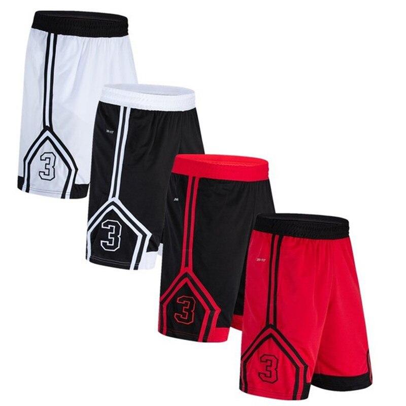 Hoge Kwaliteit Basketbal Shorts Training Hardlopen Sportkleding Fitness Shorts Digital Printing mannen Ademende Sport Shorts
