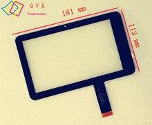 Noir 7 pouces pour Digma iDnD7/globusgps GL-700/ICONBIT NETTAB SKY 3g Duo/ZTE E9 ecran tactile livraison gratuite