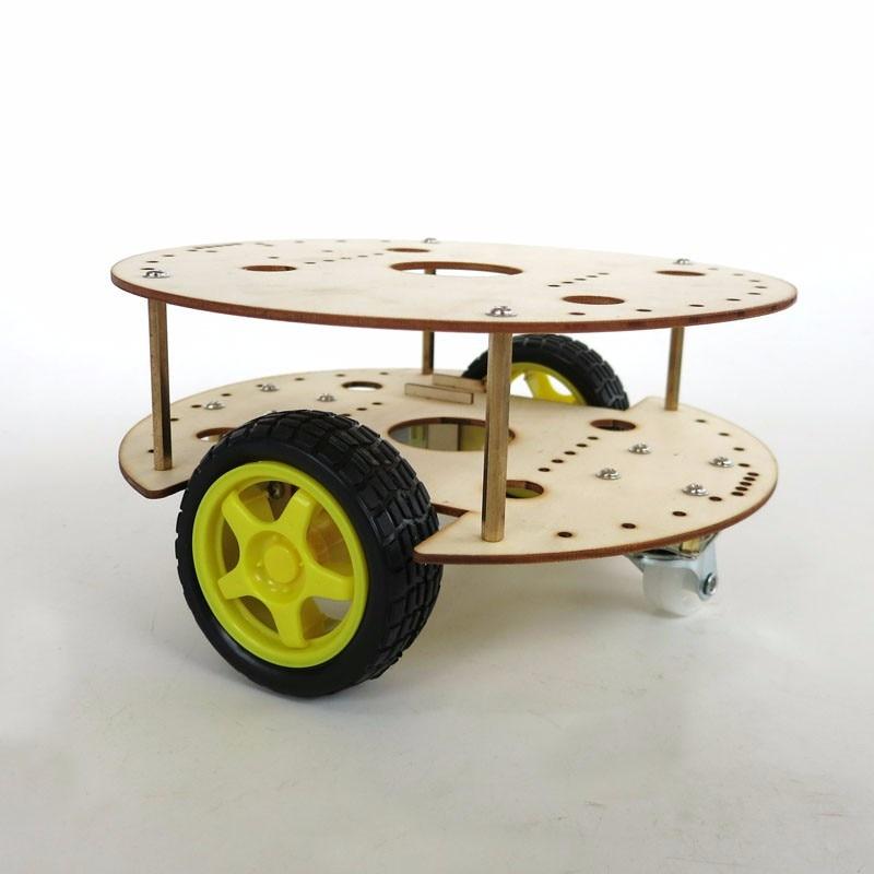 Feichao-هيكل سيارة روبوت يتم التحكم فيه عن بعد ، R3W4 ، DIY ، إطار سيارة محسن ، نموذج ألغاز إبداعي ، ملحقات RC ذاتية الصنع