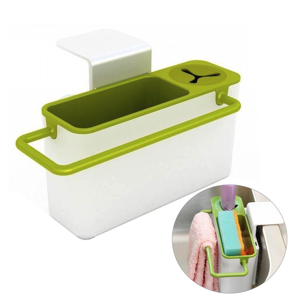 Hot Sale Plastic Rastrelliere Racks Organizer Kitchen Sink Tidy Utensils Sponge Holders Drainer Drain Rack For Kitchen