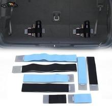 Organizador de maletero de coche, correa de Color elástica de estilismo para coche, accesorio de Interior fijo para Estilismo de coche