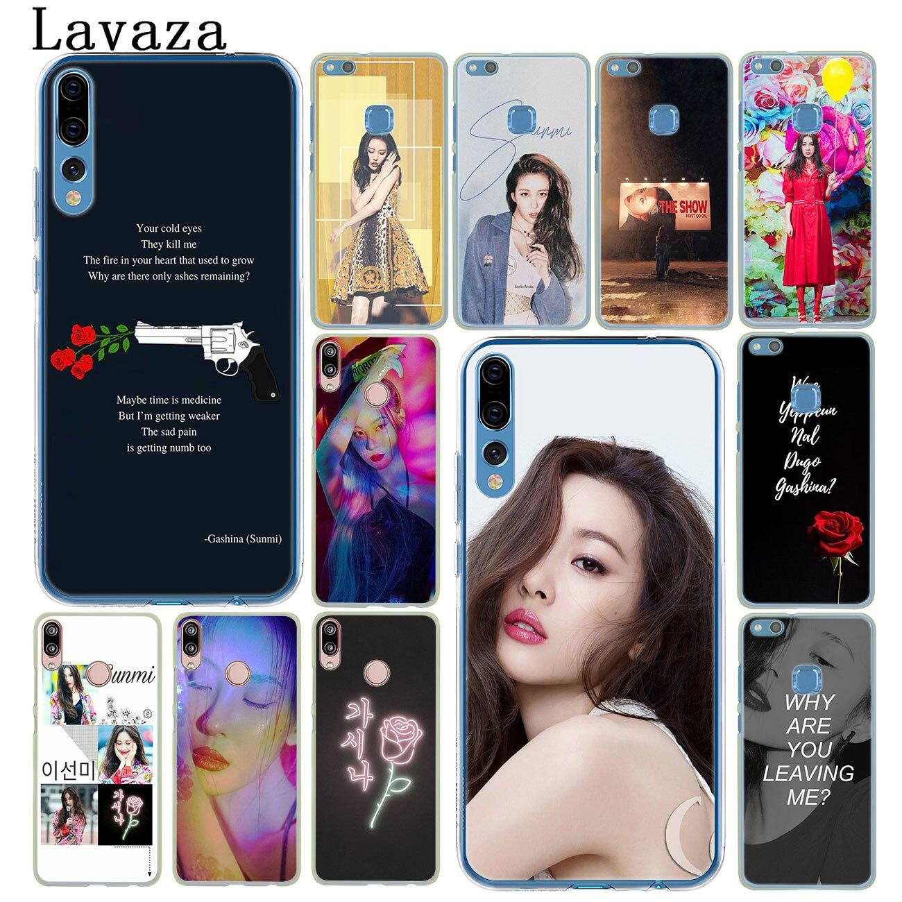 Lavaza Lee Sun mi sol mi kpop funda del teléfono para Huawei P30 P20 Pro P9 P10 más P8 Lite mi ni 2016 de 2017 P smart Z 2019 cubierta