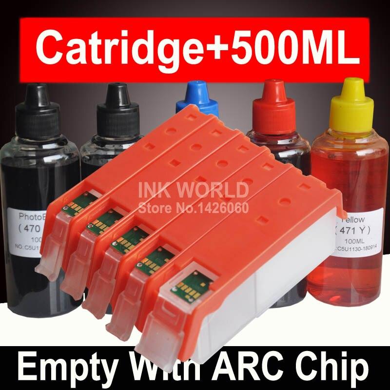 Voor Canon ip7240 ip 7240 Inkt Cartridge Navulbare Cartridge voor Canon Pixma ip7240 ip 7240 Met Permanente Chip PGI450