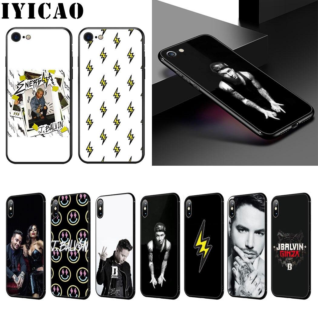J Balvin suave de la caja del teléfono de silicona para iPhone 11 Pro Max XR X XS X máx. 6S 6 7 8 Plus 5 5S SE caso
