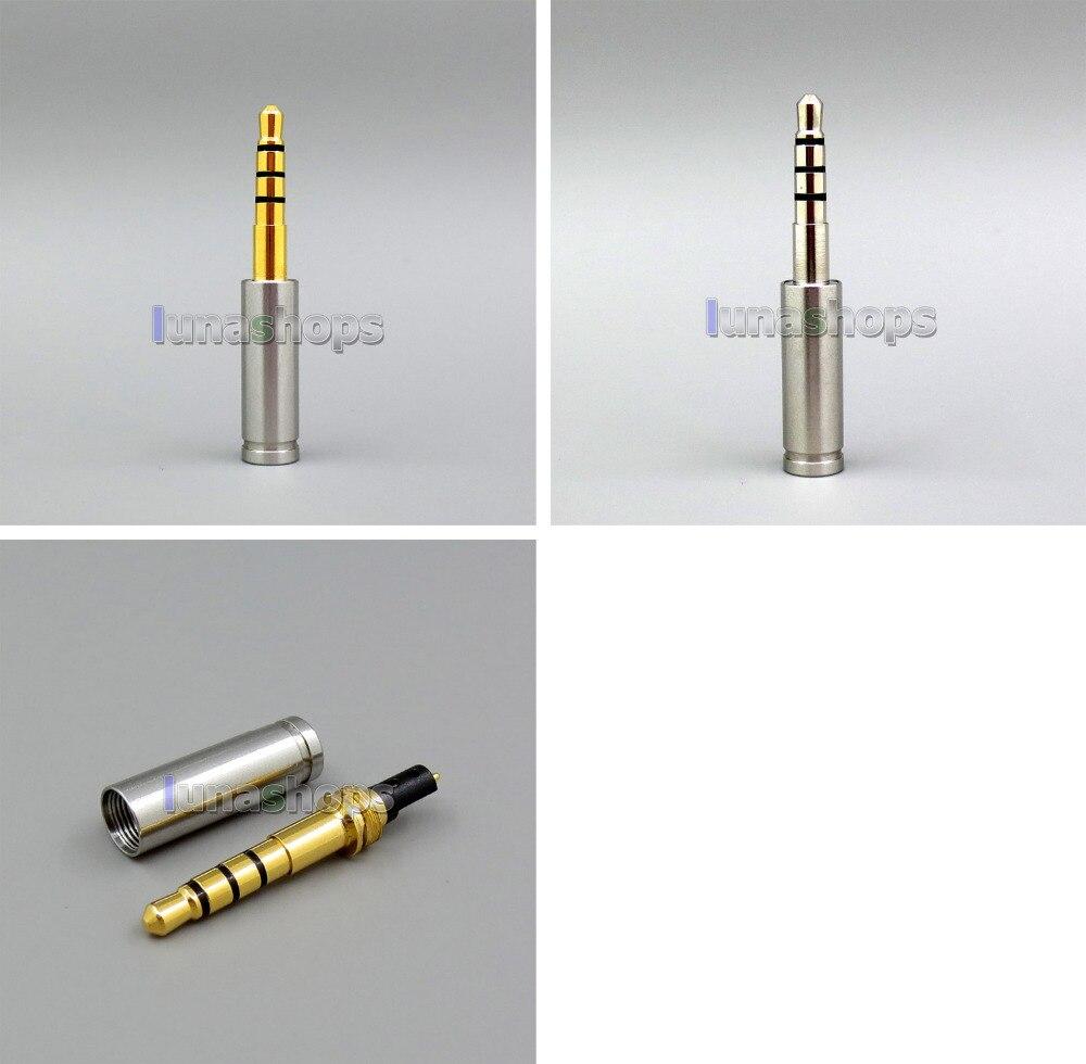 Improved Version 3.5mm 4 pole Headphone Pins Adapter For Final Audio Design Pandora Hope vi Denon AH-D600 D7100 Velodyne LN06275