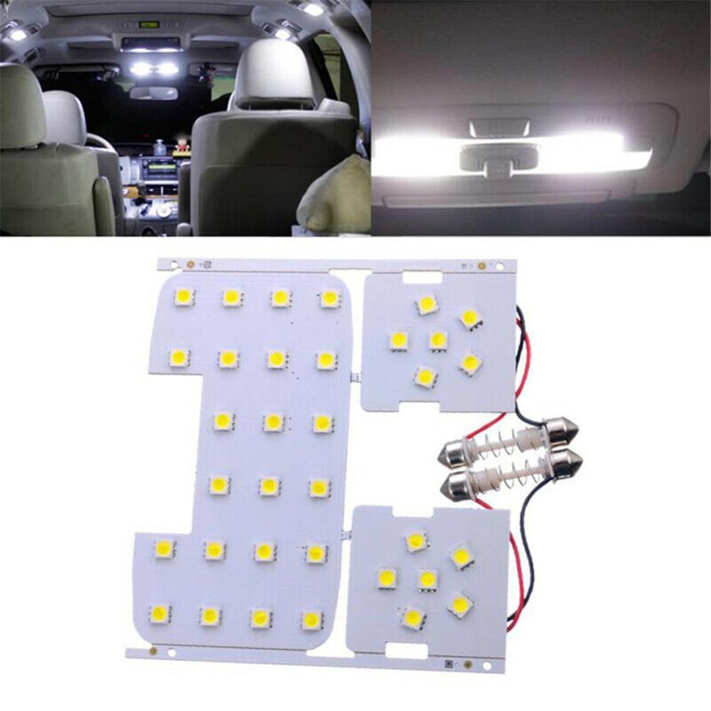 3 uds. 12V luces de lectura para el Auto Interior lámpara para Kia Rio K2 coche LED Bombilla para Hyundai Solaris Verna coche estilismo Luz
