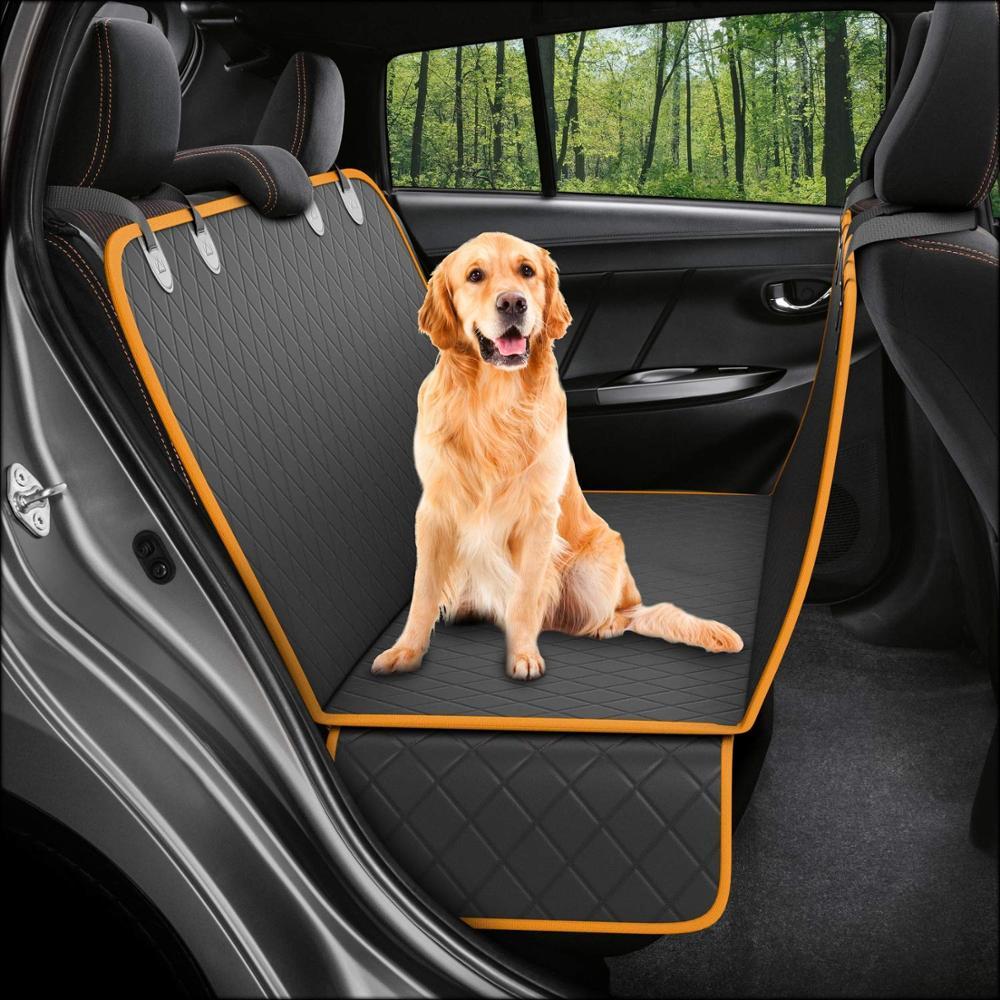 Mascota perro portador en asiento del coche cubierta posterior manta Mat antideslizante plegable cojín Mat para perros mantas plegables productos para mascotas