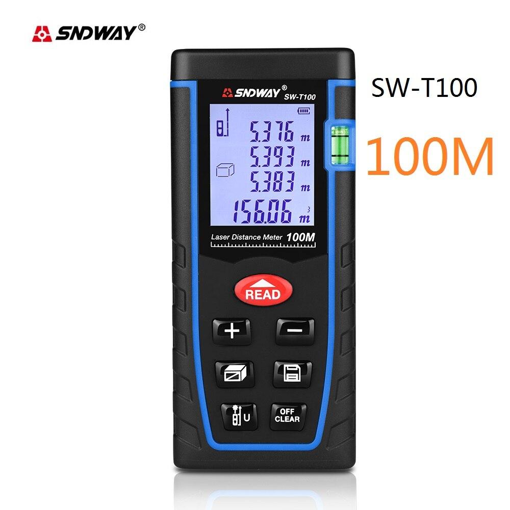 40 pcs SNDWAY handheld Laser Distance Meter 100m Laser Range finder