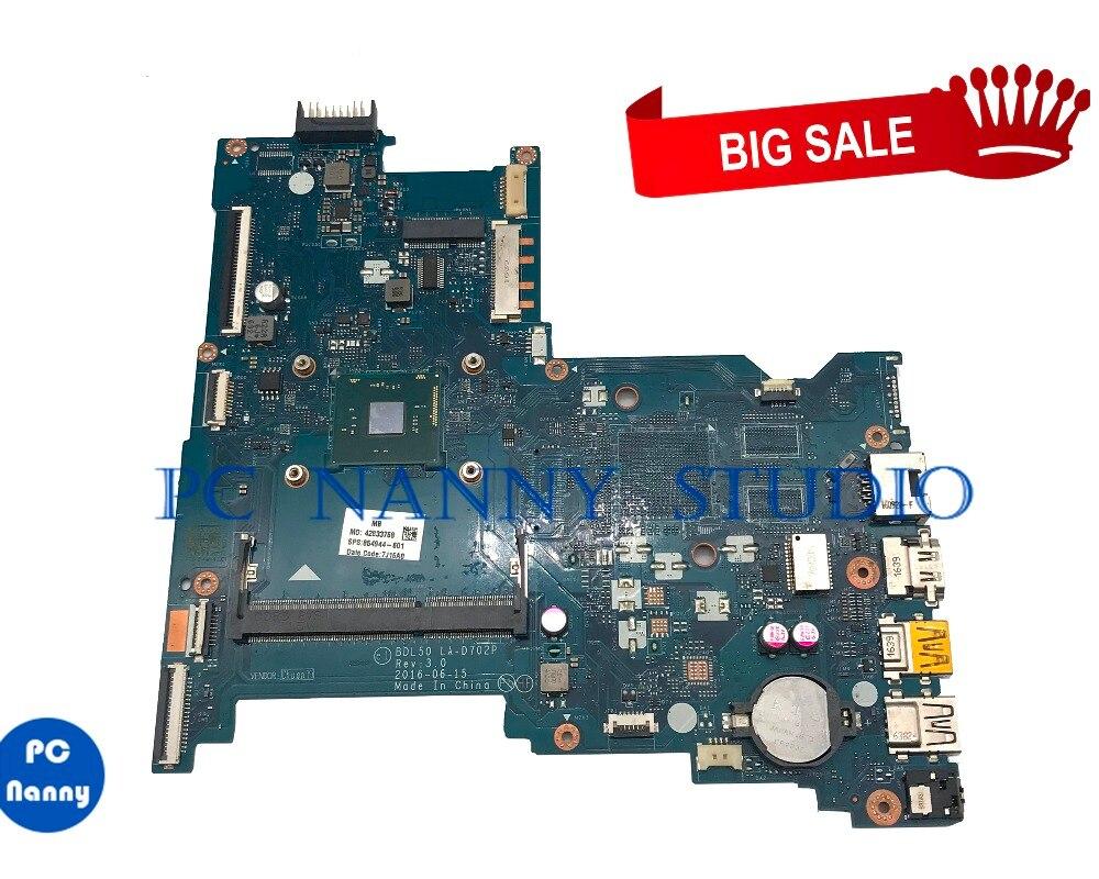 PANANNY ل HP 250 G5 اللوحة 854944-601 854944-001 SR2KN N3060 BDL50 LA-D702P DDR3 Laptop Mainboard اختبار