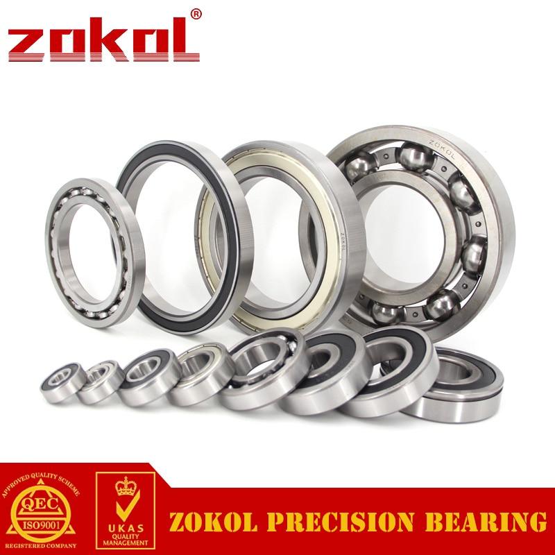 ZOKOL bearing 6826 2RS 1000826(61826) Deep Groove ball bearing 130*165*18mm